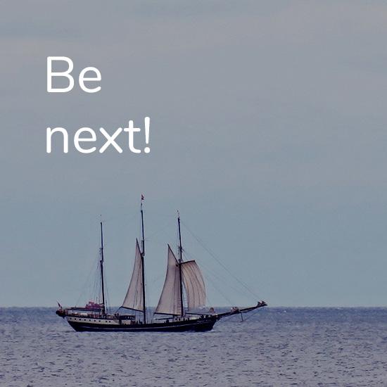 Be next!